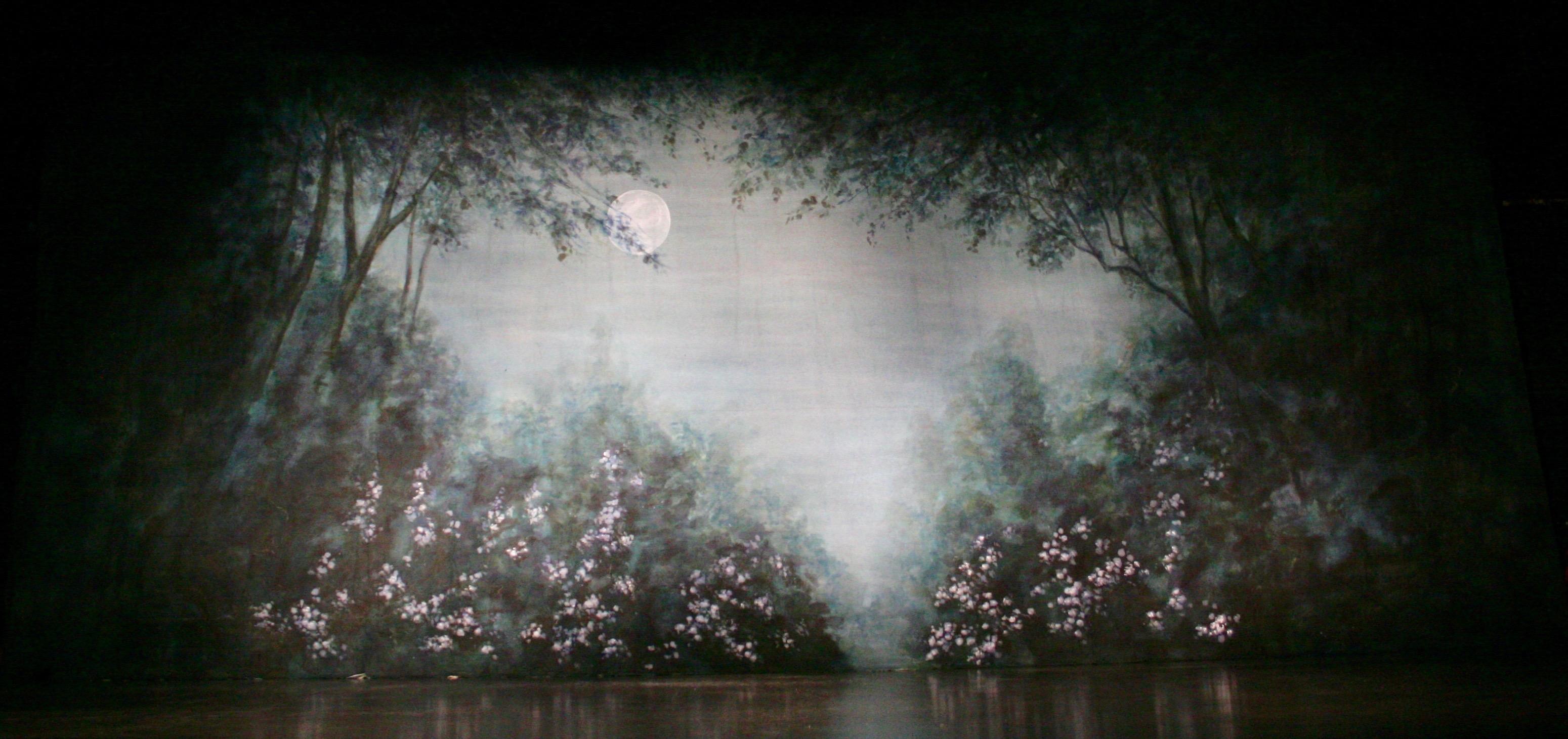 LilacGarden Backdrop