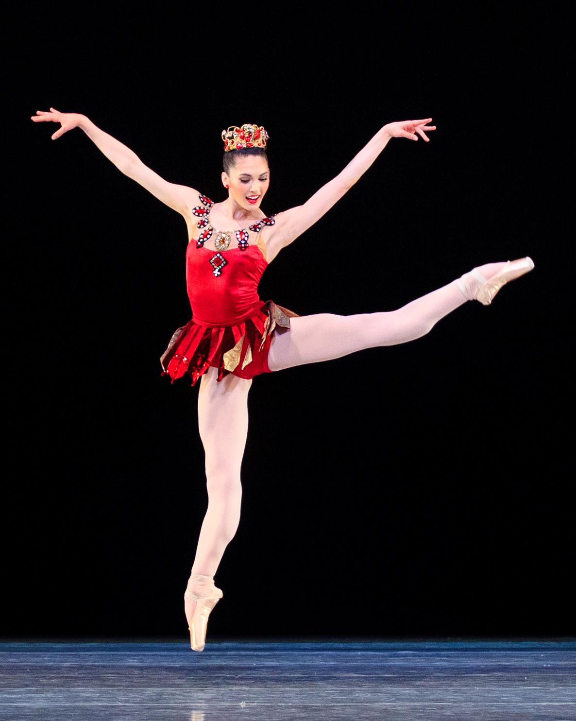BalletWest_Rubies_BeckanneSisk_PhotoLuke Isley