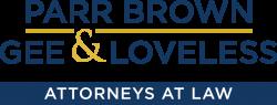 Parr Brown Logo - AAL_BLUE_BAR
