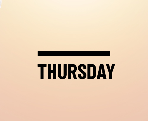Thursday Evening