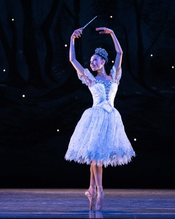 Ginabel Peterson. Photo by Beau Pearson. Costumes by the Ballet West Costume Shop. Choreography by Pamela Robinson Harris.